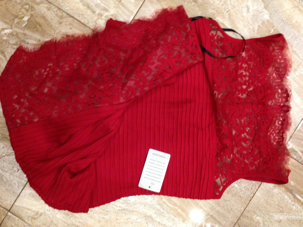 Сказочно красивое дизайнерское платье от TADASHI SHOJI р.46
