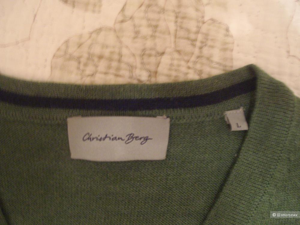 "Мужской пуловер ""Christian Berg"" размер L (Германия)"