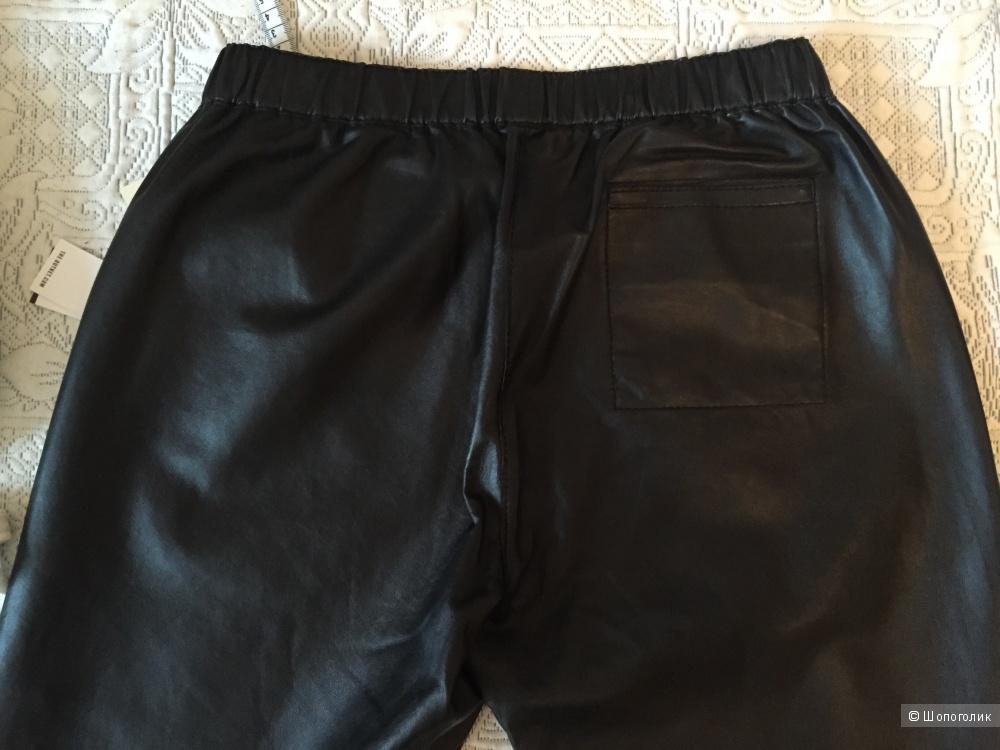 Maje кожаные брюки