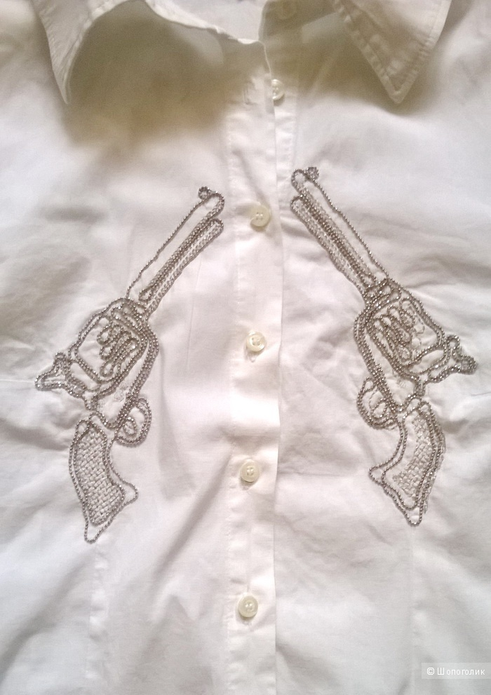 Рубашка D-ERI-J белая 44 размер