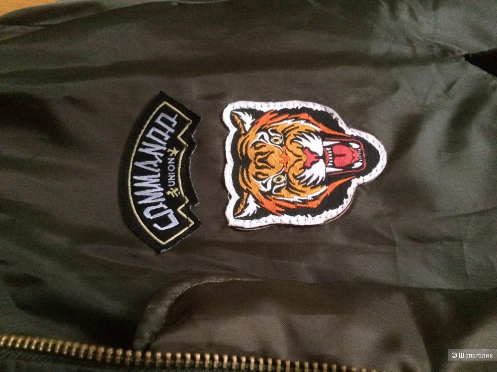Новая куртка бомбер boohoo