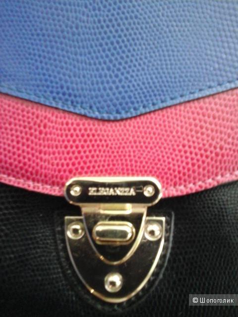 Новый итальянский клатч марки eleganzza