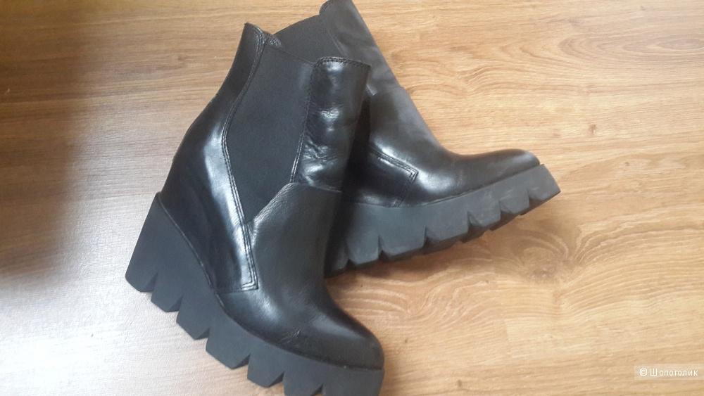 Модные стильные ботинки бренда Ash 39 размер натур.кожа