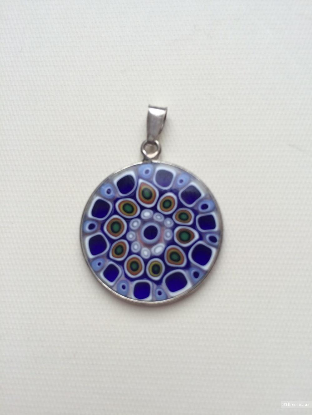 Медальон с Муранского стекла