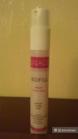 Сыворотка против морщин интенсивная укрепляющая  Uriage Isofill Wrinkle Focus Correction Serum.  Оригинал.