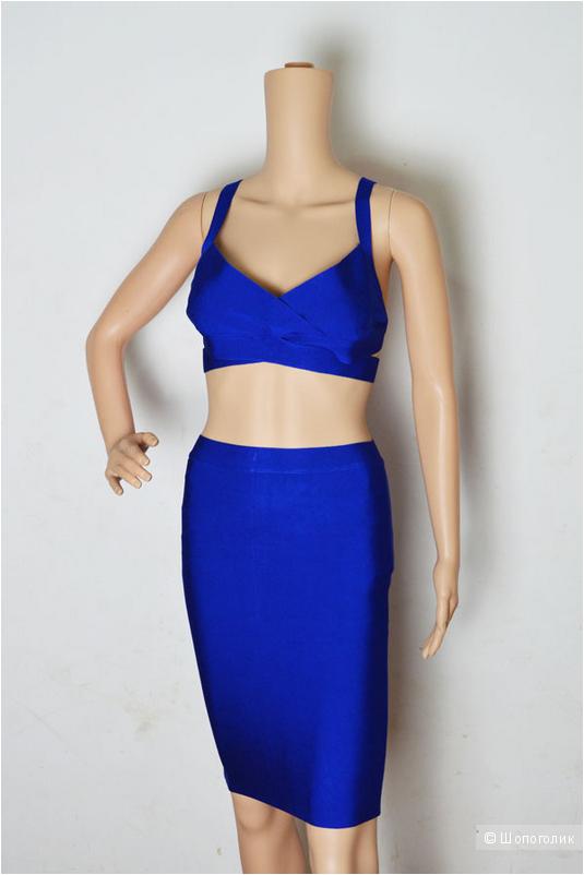 Платье Herve Leger (юбка и топ)