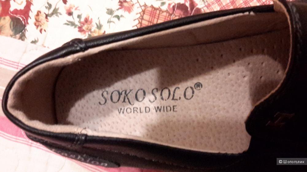 Туфли Soko Solo  новые размер 37