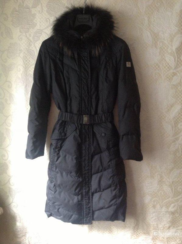 Пуховое зимнее пальто AD HOC  44-46