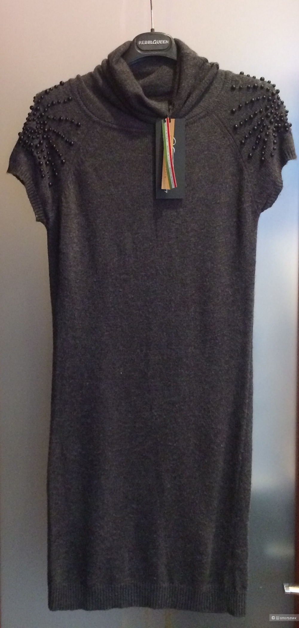 Новое тёплое платье Италия