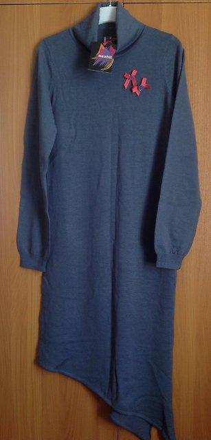 Тёплое трикотажное(шерсть+акрил) платье Neohit р-р XS (42-44)