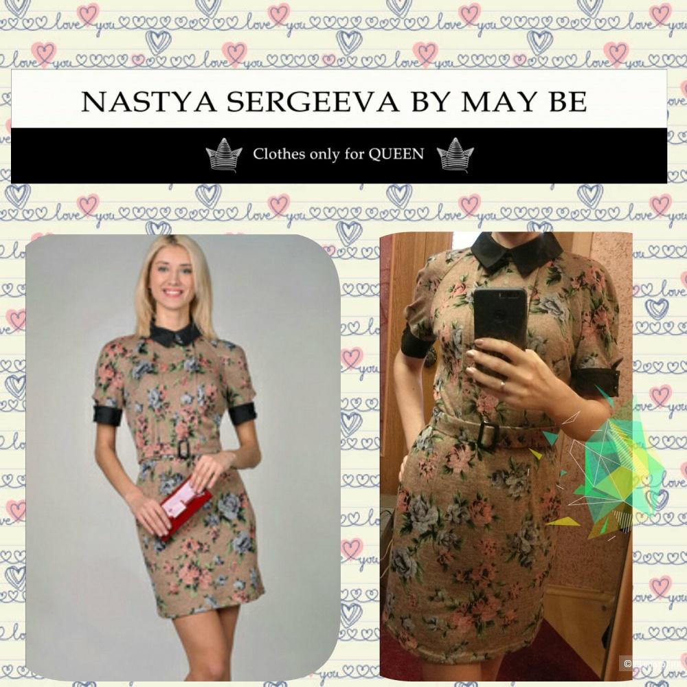 Платье Nastya Sergeeva by may be с поясом XS