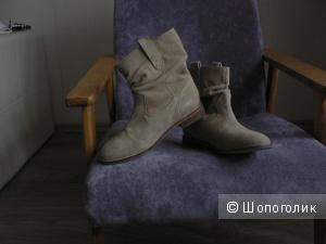 Ботинки новые ASOS замша цвет песочный UK4 р 37