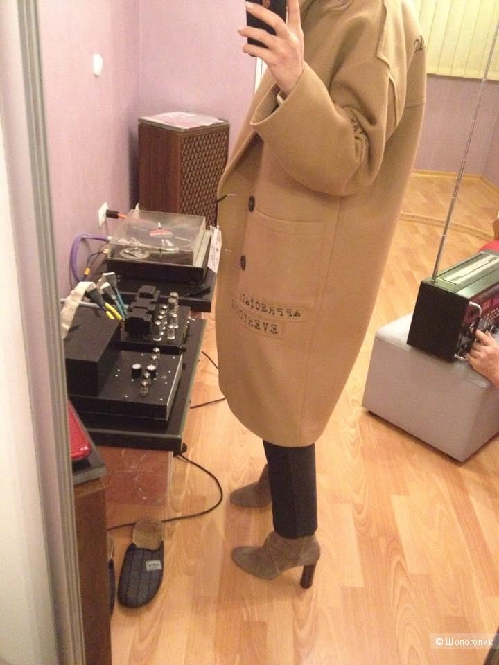 Новое кэмел пальто Zara