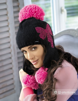Продам теплую новую шапку-ушанку польского производителя KAMEA, только в бирюзовом цвете!!!