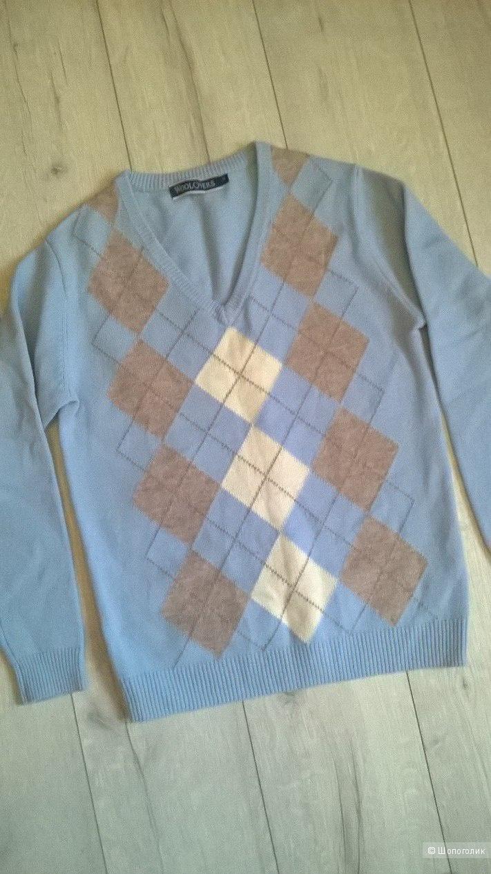 Пуловер Woolovers, 44-46 рус., 100% шерсть
