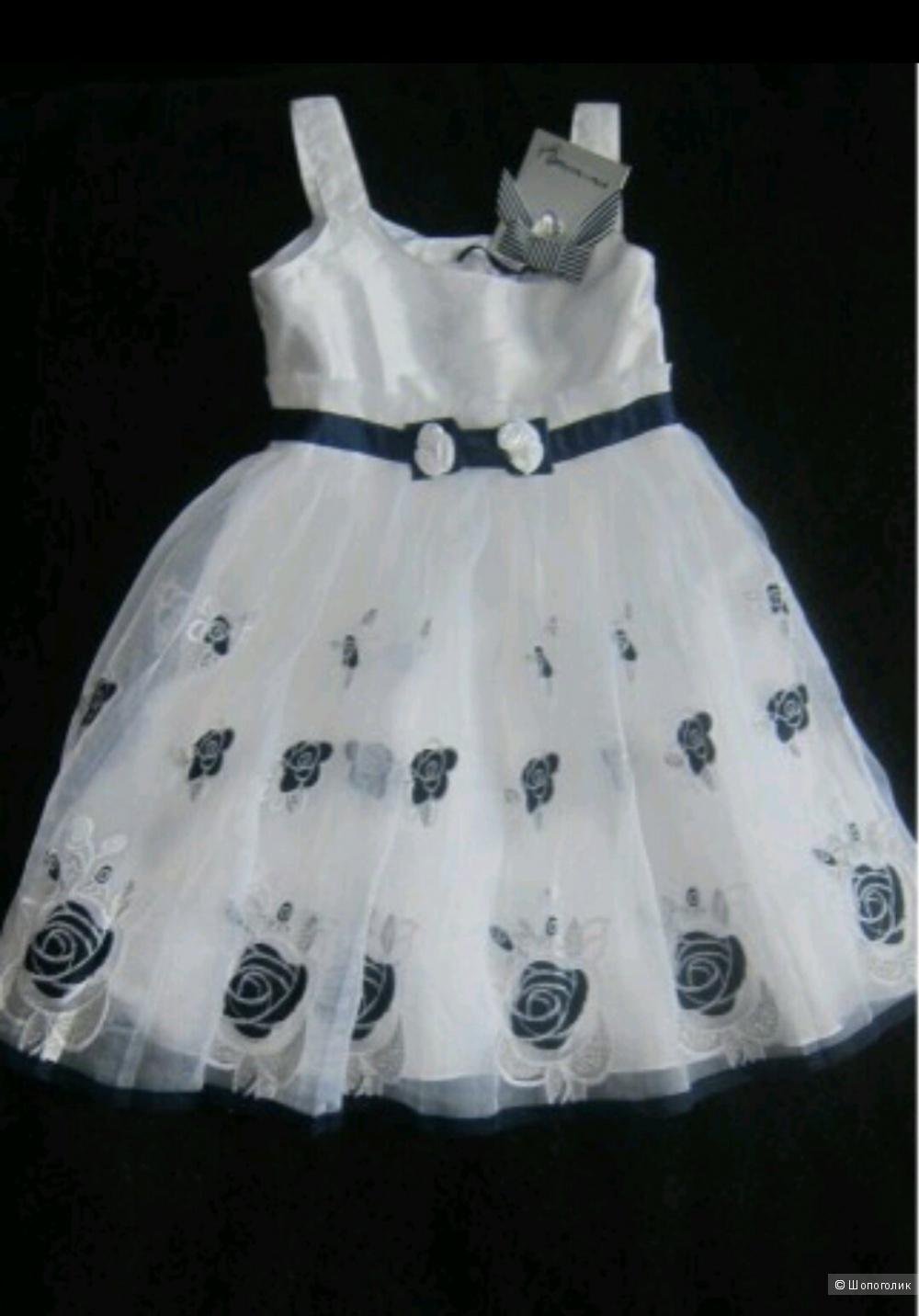 Новое очаровательное платье  Artigli для малышки 98 см..