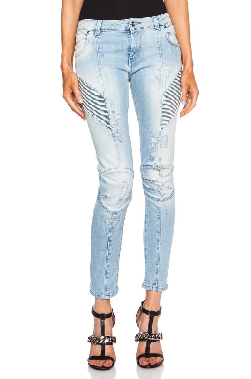 Новые джинсы Pierre Balmain Biker Jeans, 29 (марк. 30)