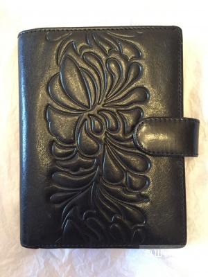 Кожаная обложка для документов - кошелёк Dr.Koffer