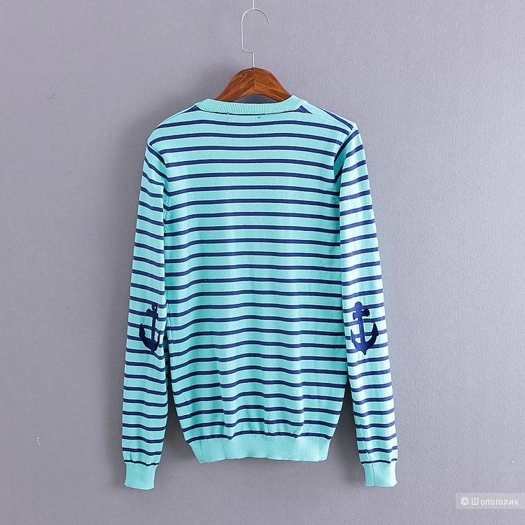 Морской свитер новый на 40-42