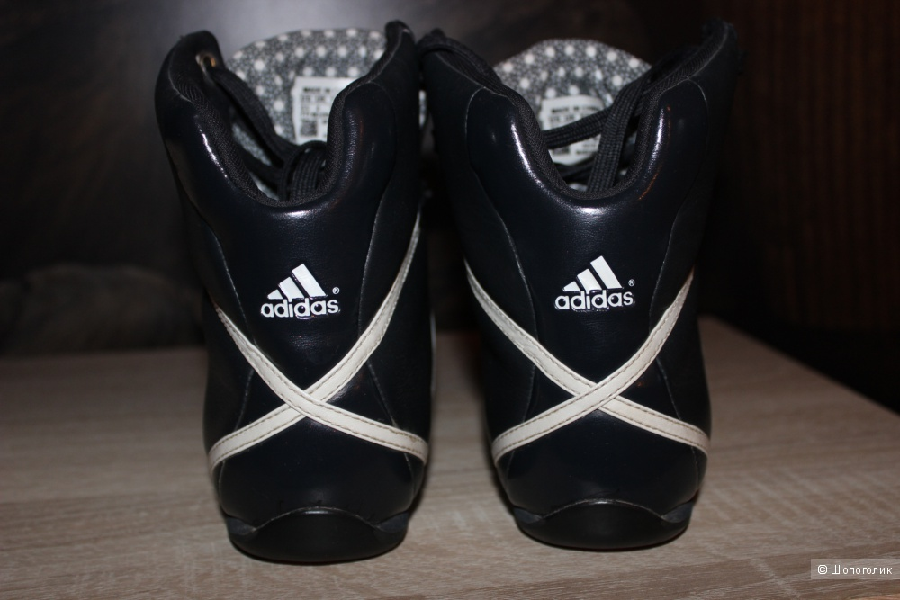 Кожаные кроссовки ADIDAS