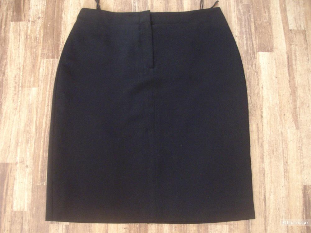 """Юбка черная в деловом стиле """"ETAM"""" размер 46 (Германия)"""