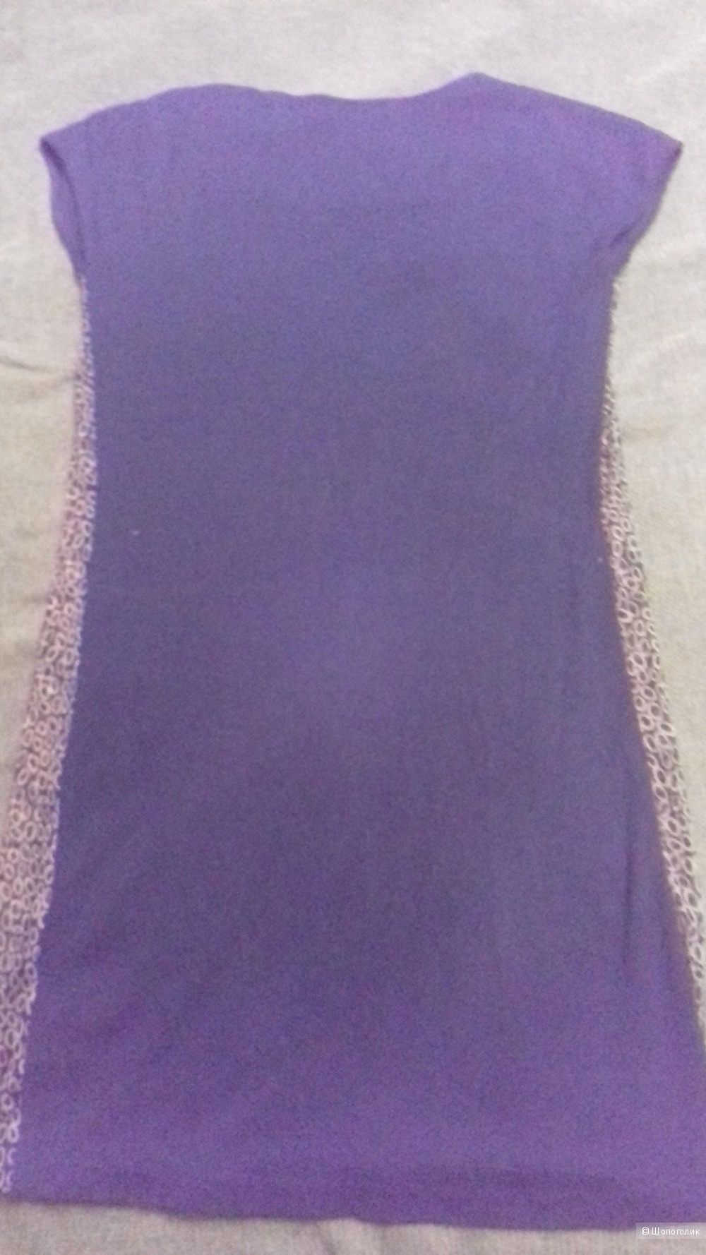 Темносинее платье San&Fa размер S