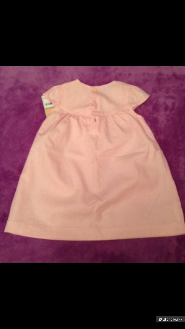 Новое платье Carters 12m.