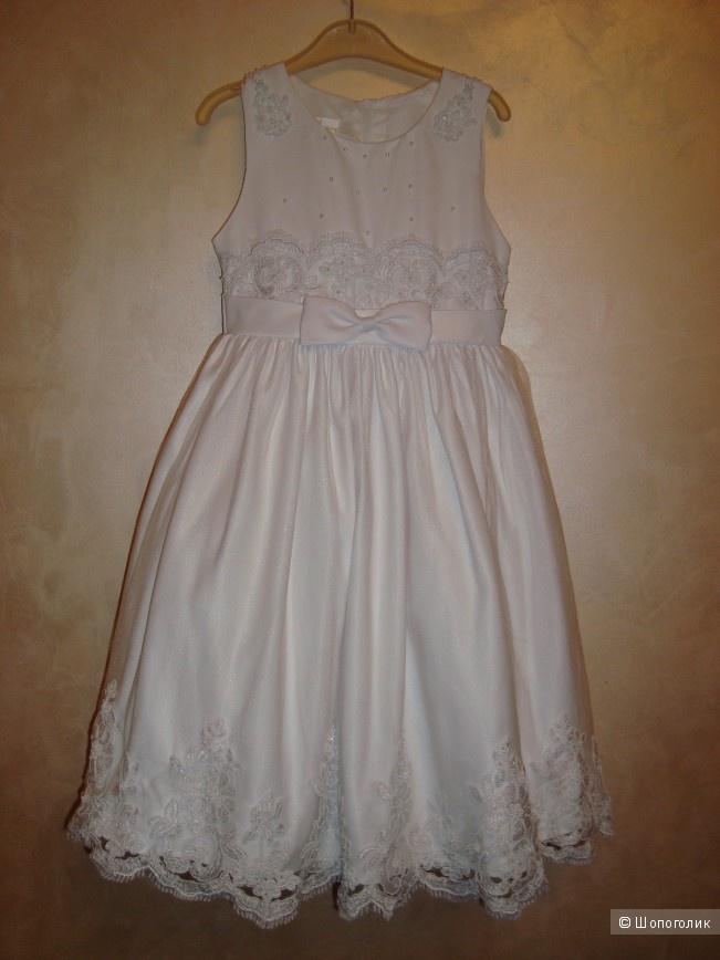 Детское нарядное платье Americav princess 7 лет