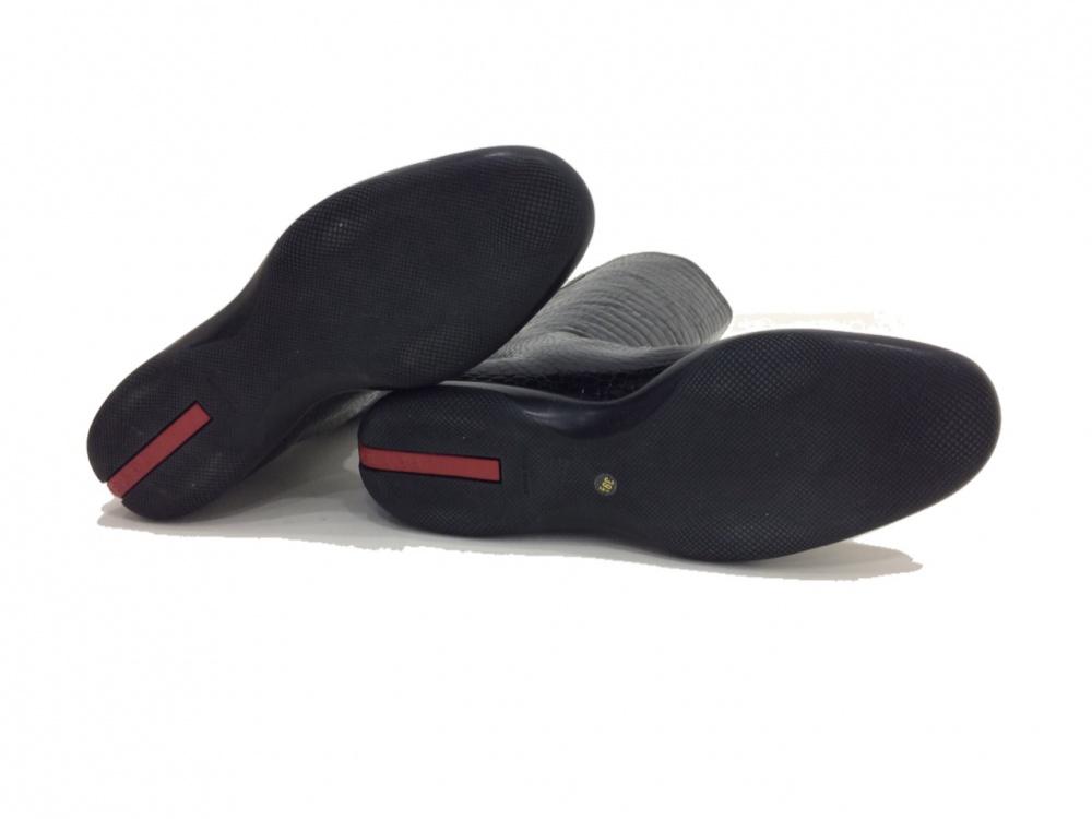Идеальные лаковые сапоги Prada, 40-41 размер!