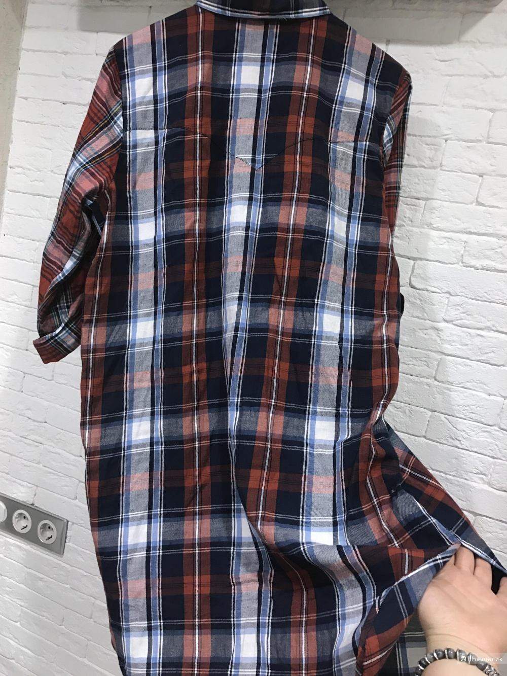 Платье-рубашка в клетку Noisy May