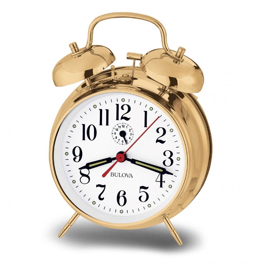 Часы будильник Bulova