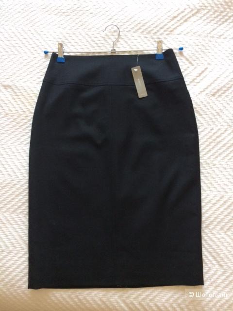 Классическая черная юбка-карандаш из JCrew