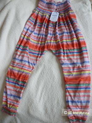 Новые модные брюки для девочки фирмы ZARA (с приспущенными эффектом)