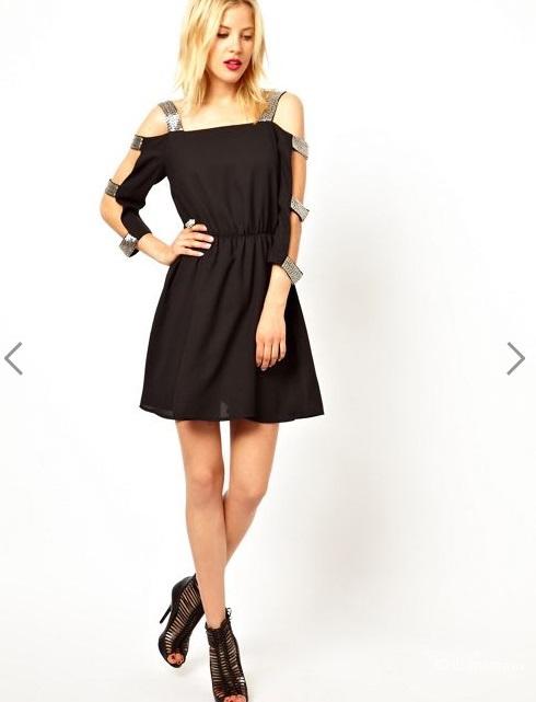 Уникальное платье с бисером ASOS