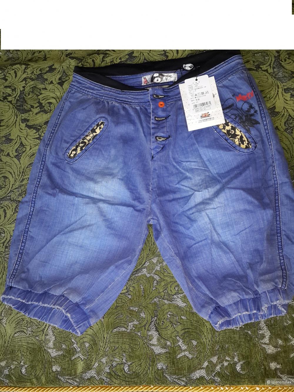 Продаю новые джинсовые шорты 48 размера