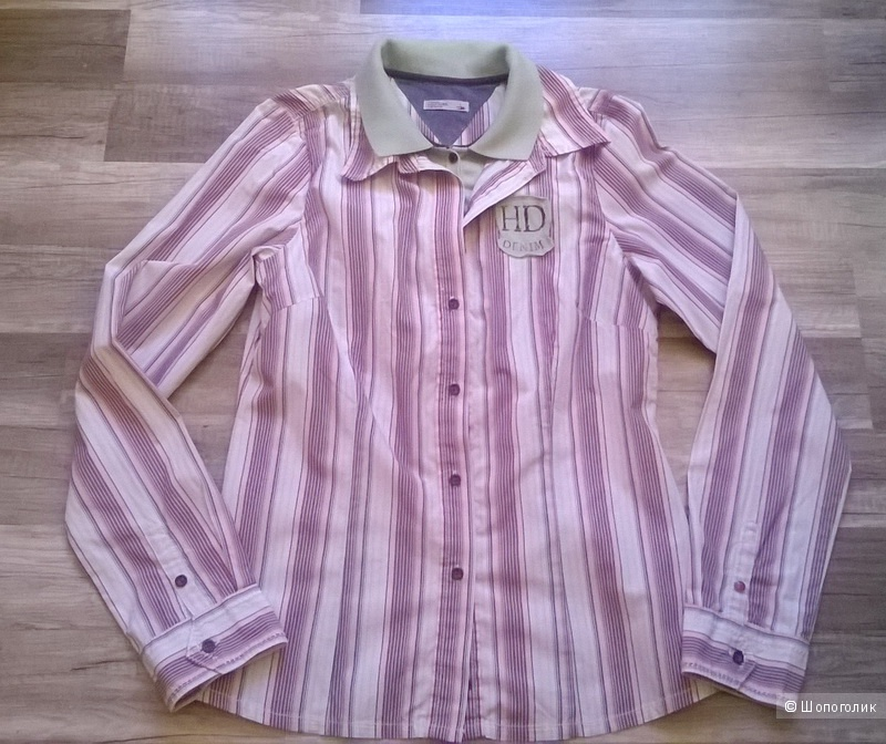 Рубашка TOMMY HILFIGER denim 46 размер