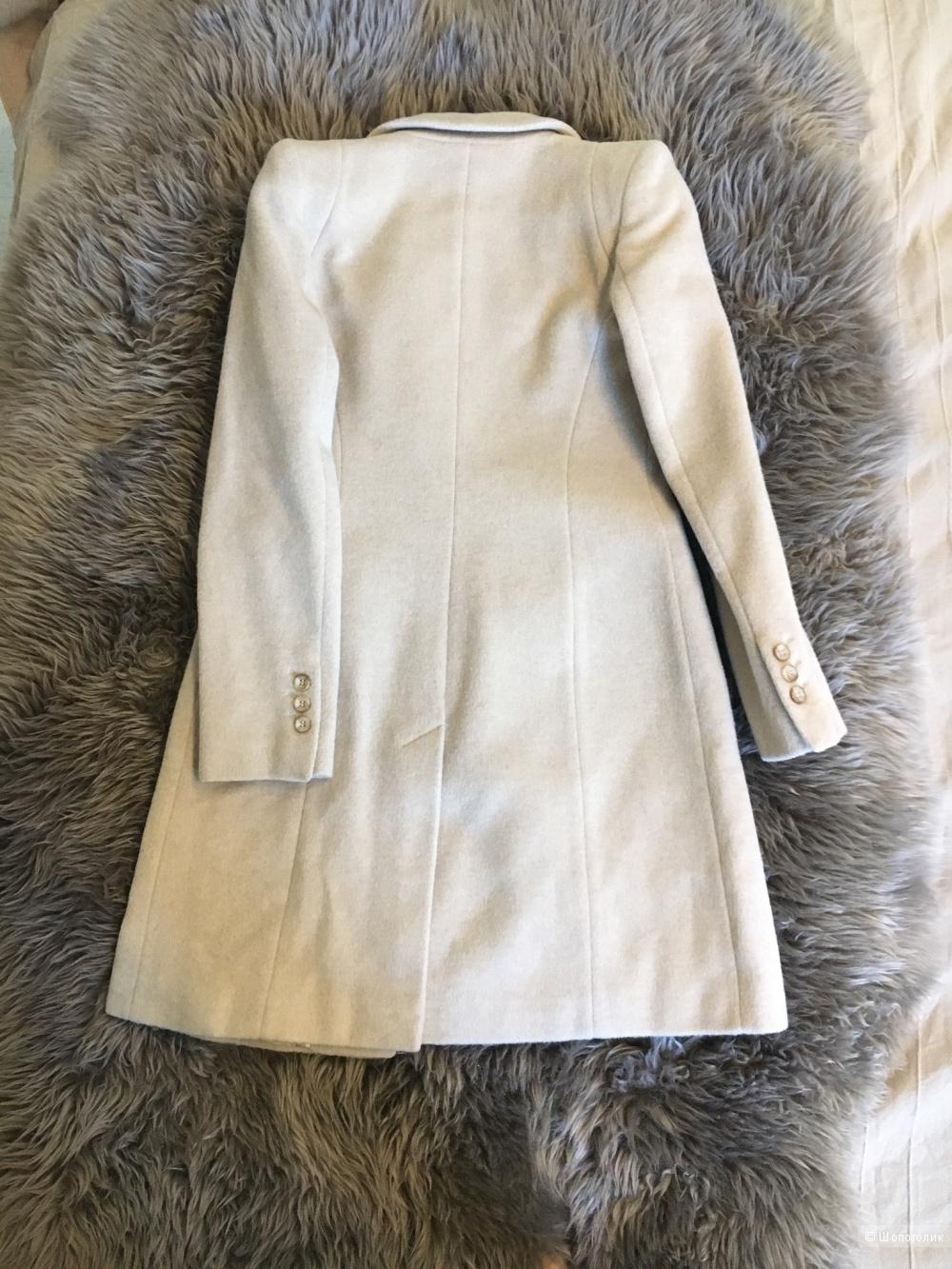 Новое шерстяное пальто Oasis, размер XS
