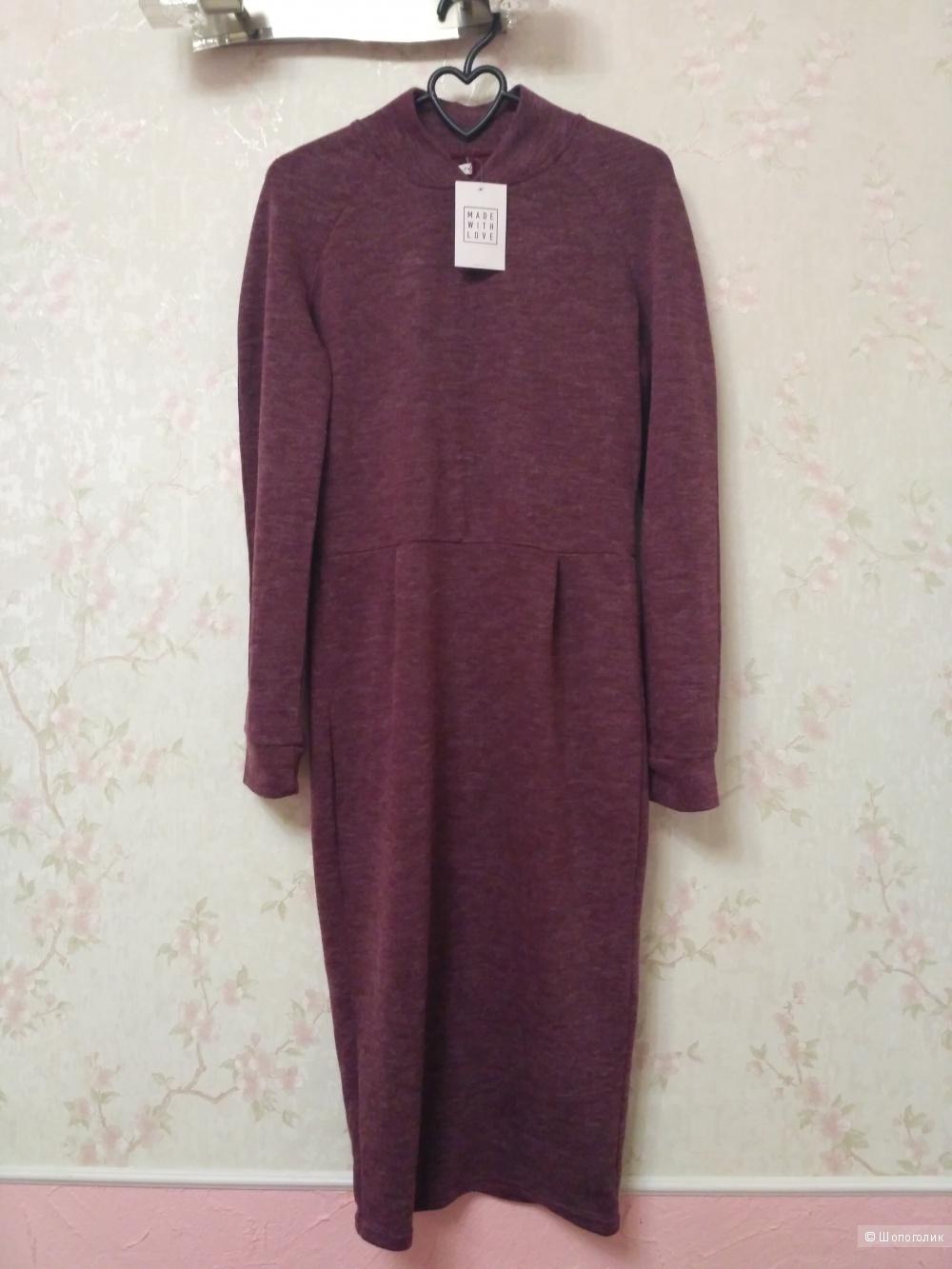 Длинное платье с ангоркой Gepur размер М