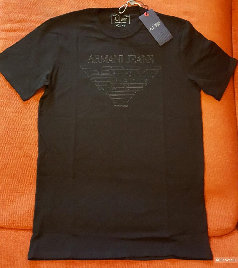 Продам абсолютно новую мужскую футболку Armani Jeans, размер L (оригинал)