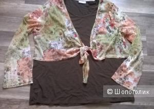 Блузка обманка YESSICA 50-52 размер НОВАЯ