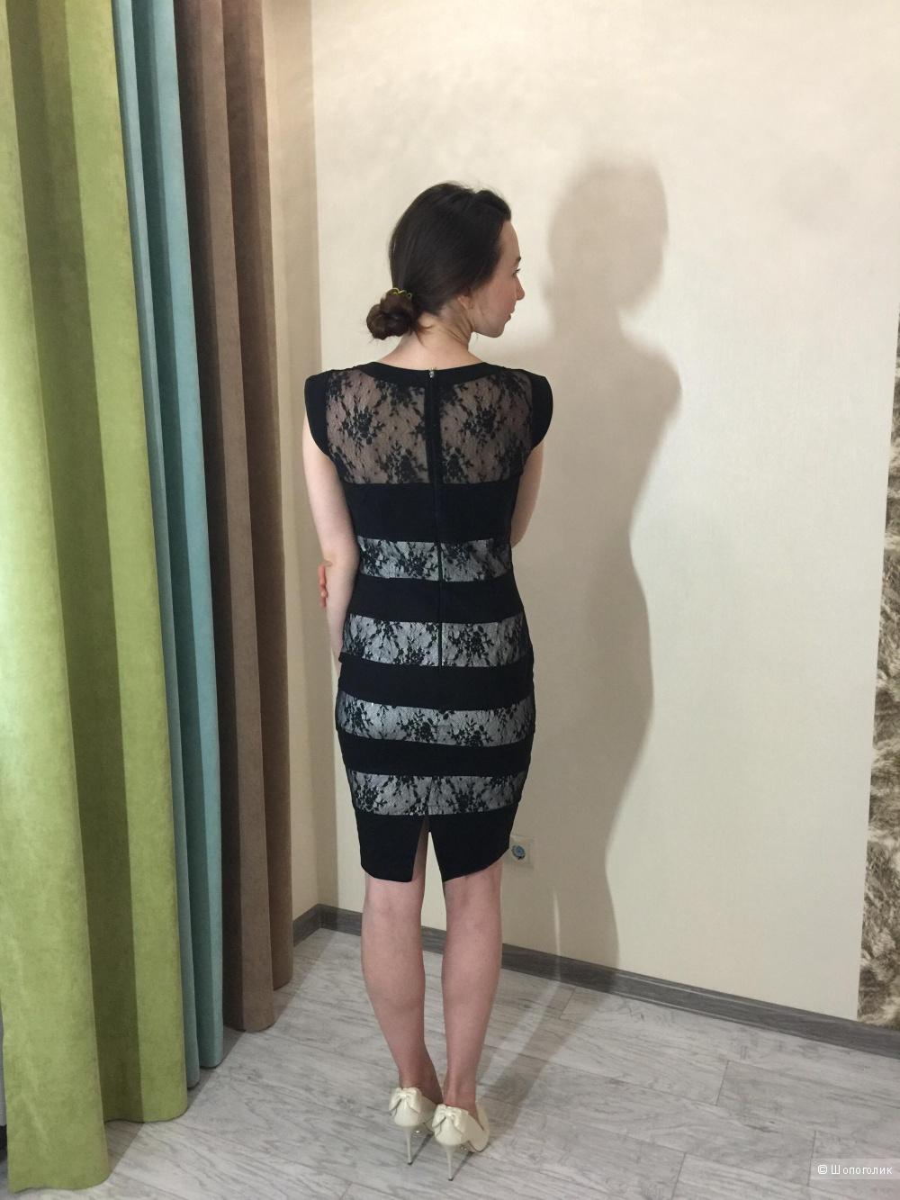 Идеальное платье-футляр Paper Dolls, новое, р.12UK
