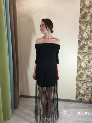 Звездное платье от LOST INK, новое, р.12UK