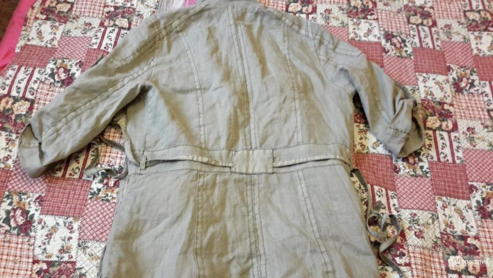 Куртка в стиле сафари Zara basic размер S б/у пару раз