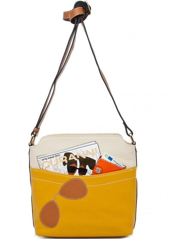 Новая итальянская сумочка Curanni