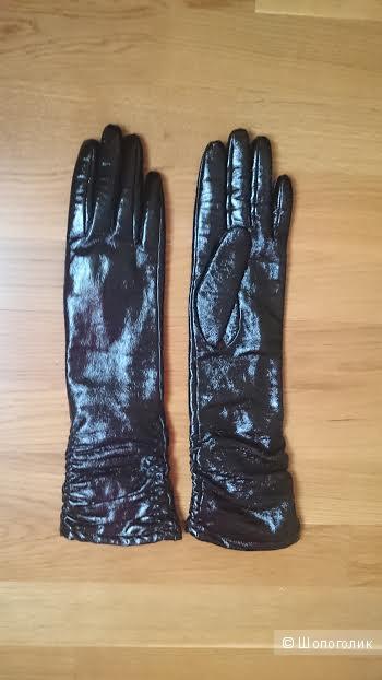 Высокие кожаные перчатки Jeronimo ,  оригинал.