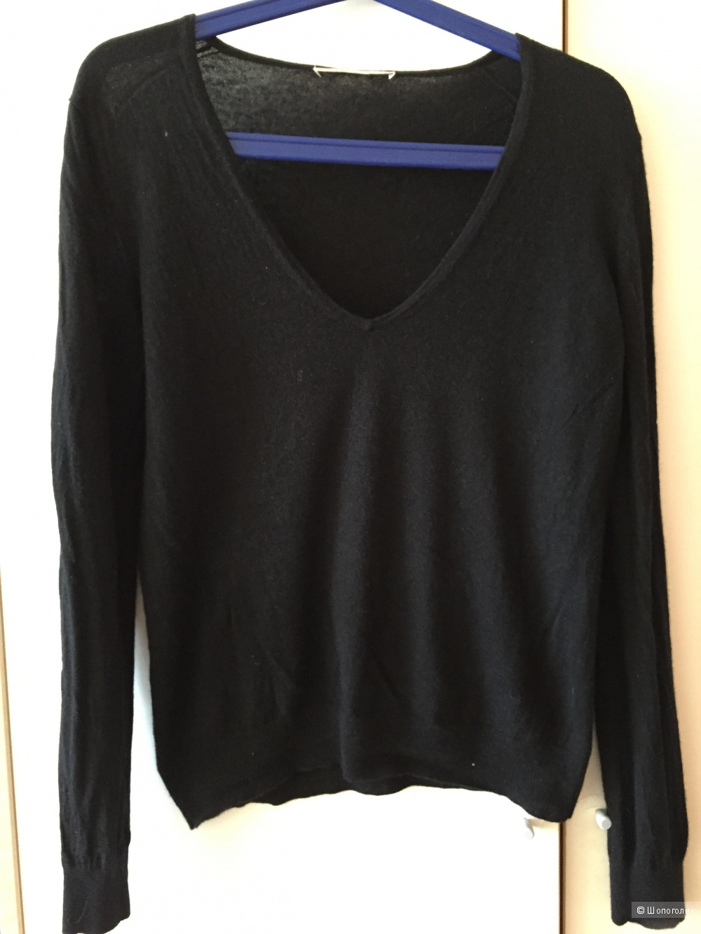 Пуловер кашемир Stefanel размер L.