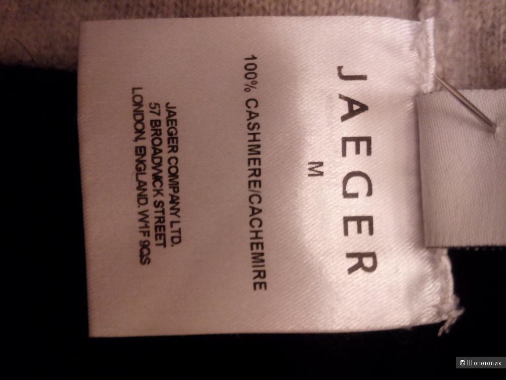 "Джемпер кашемировый 100% ""JAEGER""  Англия, размер М, 44-46 RU"