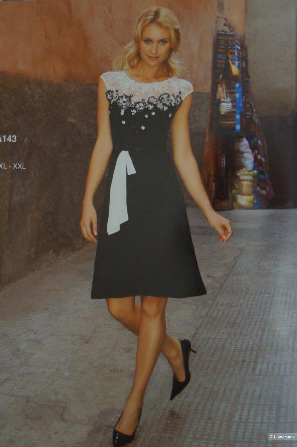 Платье расшитое бисером для праздника 42-46р.