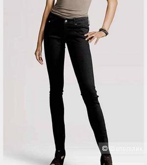Чёрные джинсы скинни, H&M, размер 27 длина 32
