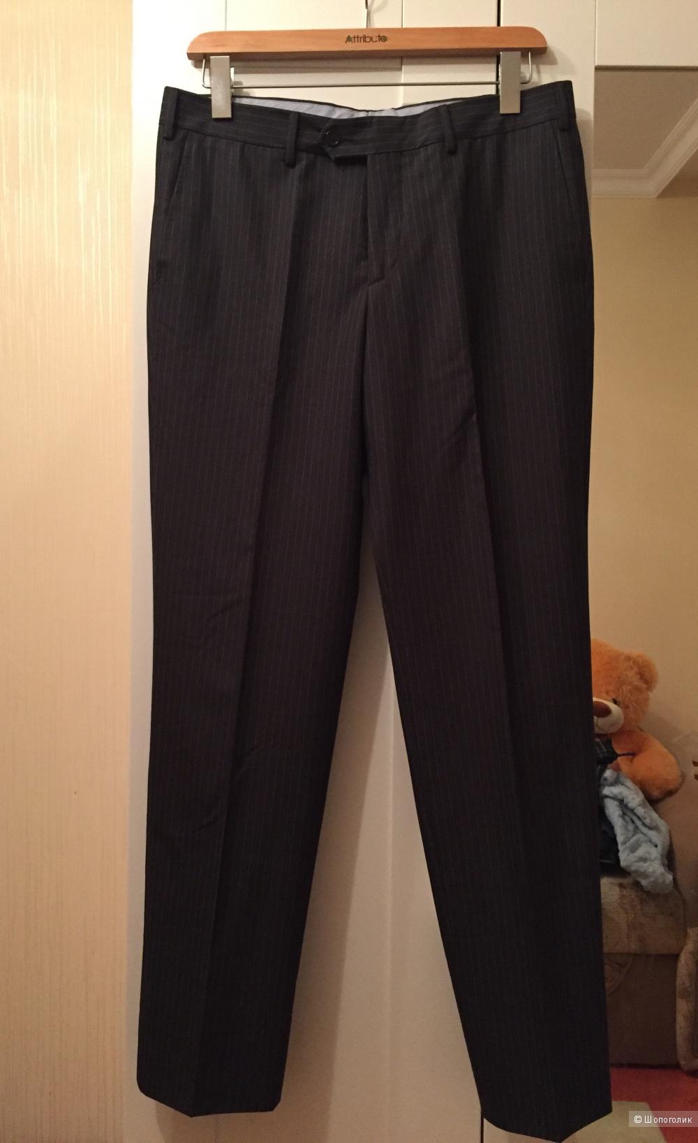 Мужские шерстяные брюки